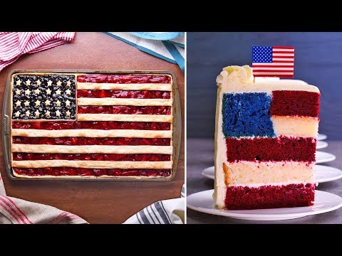 4th July Special | One Nation, Under Cake, Indivisible, With Pie And Ice Cream For All!