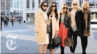 New York Fashion Week 2014: Unbuttoned | On The Street W/ Bill Cunningham | The New York Times