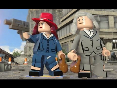 LEGO Marvel's Avengers - All 10 Agent Carter Missions / Agent Carter (Retired) Unlocked + Gameplay)