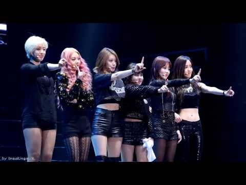 [fancam/직캠] 131221 T-ARA/티아라 Guangzhou concert - Dance Battle
