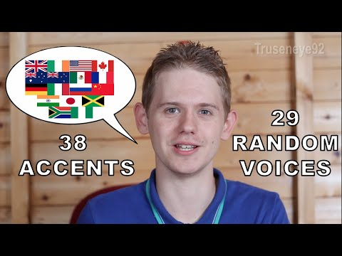 The English Language In 67 Accents & Random Voices