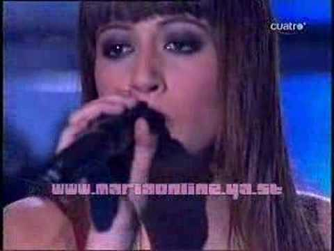 Factor X Maria Villalón   Cançao Do Mar ( Gala 4 )