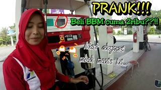 Video PRANK!!! Ekspresi petugas POM ketika beli BBM cuma 2ribu?|| godain Mbak Reka || yunius motovlog MP3, 3GP, MP4, WEBM, AVI, FLV November 2017