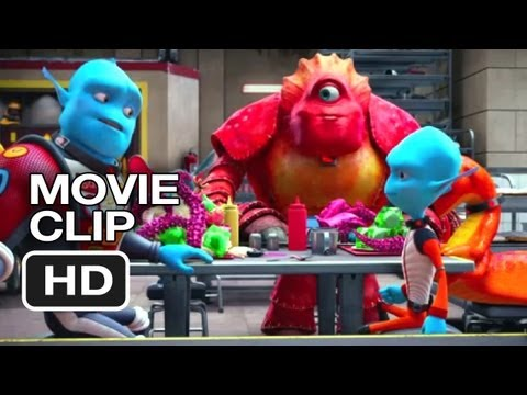 Escape from Planet Earth Clip 'Food Fight'