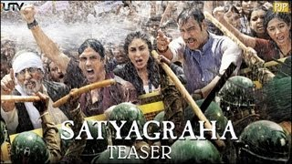 Nonton Satyagraha Official Teaser   Amitabh Bachchan   Ajay Devgn   Kareena Kapoor Film Subtitle Indonesia Streaming Movie Download