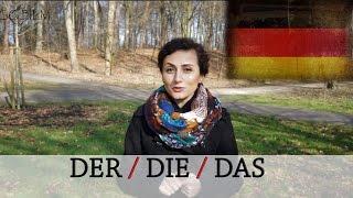Bestimmter Artikel DER / DIE / DAS - wann benutze ich was? Deutsch lernen Hannover learn german