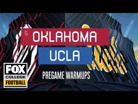 Video: Oklahoma at UCLA Pregame Warmups | FOX COLLEGE FOOTBALL