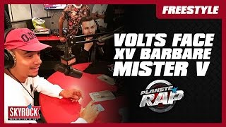 Video XV Barbare, Volts Face & Mister V en live #PlanèteRap MP3, 3GP, MP4, WEBM, AVI, FLV November 2017