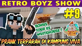 VIVA SMP S3 #9: PRANK TERPARAH DI KAMPUNG VIVA | Minecraft Indonesia