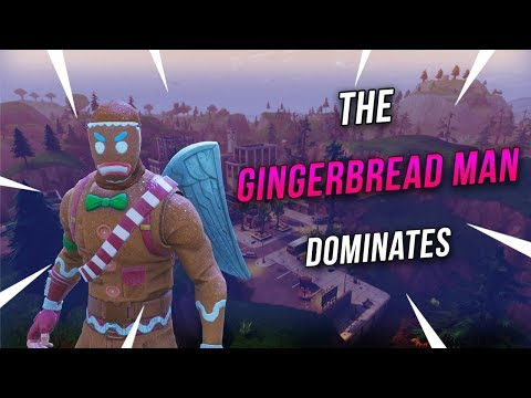 The Gingerbread Man Dominates - Fortnite Battle Royale