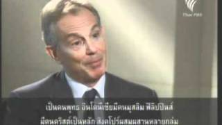 19 Jan 12 Thailand Part 2 Late Night Breaking News Thai PBS Special Interview With Former British Pr