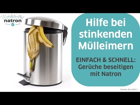 Mülleimer stinkt – Was tun?