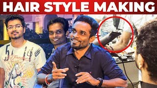 Video Thalapathy Vijay's Favourite Hair Cut - Hair Stylist Rajesh Reveals | RS 63 MP3, 3GP, MP4, WEBM, AVI, FLV November 2018