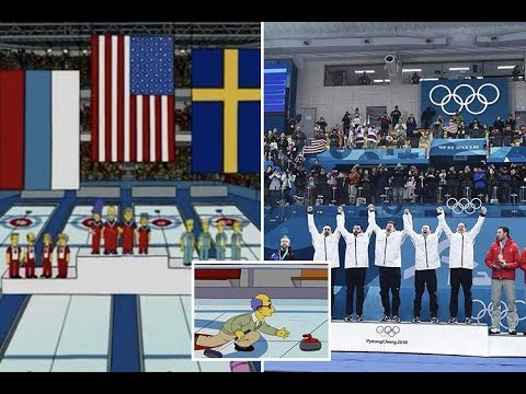 The Simpsons predicted US would win Olympic curling gold medal - 247 News
