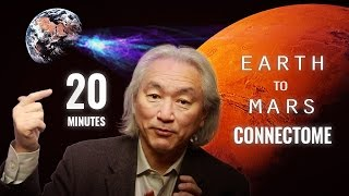 Derek Muller (Veritasium) asks Michio Kaku (Nov 4, 2015) about whether it is  possible to do interstellar space travel and Michio Kaku explains different ways that we are deploying right now like booster rockets, nuclear rockets, antimatter rockets but all of these are very expensive and takes lots of time. But there is another way that humanity isn't taking seriously and that is connectome aka sending human consciousness into space on a laser beam and it can help us reach alpha centauri in just four years.You can also buy a book on connectome - http://amzn.to/25EhDK6For more information on connectome -https://en.wikipedia.org/wiki/Connectomehttp://www.humanconnectomeproject.org/http://www.neuroscienceblueprint.nih.gov/connectome/https://www.ted.com/talks/sebastian_seung?language=enhttp://cbs.fas.harvard.edu/science/connectome-projectMore about derek muller veritasium -https://www.youtube.com/user/1veritasiumOther intersteller methods - Antimatter Rockets - http://www.nasa.gov/exploration/home/antimatter_spaceship.htmlhttp://www.space.com/27698-interstellar-nasa-real-science.htmlhttp://www.huffingtonpost.com/entry/the-dismal-future-of-interstellar-travel_b_5965060.htmlhttp://mkaku.org/home/articles/the-physics-of-interstellar-travel/