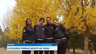 Equipe bauruense de Kung Fu conquista 14 medalhas em competição na China