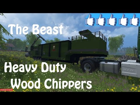 The Beast heavy duty wood chippers v1.0