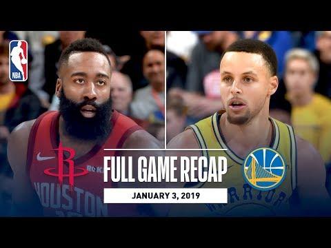 Video: Full Game Recap: Rockets vs Warriors | Overtime Thriller In Oracle
