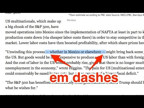 How to use em dashes, ellipses, and parentheses (видео)