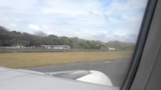 Uno de los mas impresionantes aterrizajes....San Andres Islas....Todo un espectáculo...
