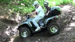 2. Arctic Cat 700 EFI TRV - Testing the new machine
