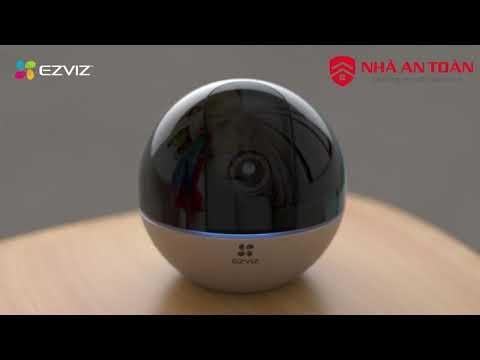 Mở hộp và giới thiệu camera EZVIZ C6W - Camera quay quét 360 độ nét siêu đỉnh