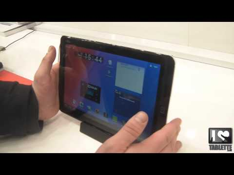 Tablette Android Fujitsu Stylistic M702 prise en main