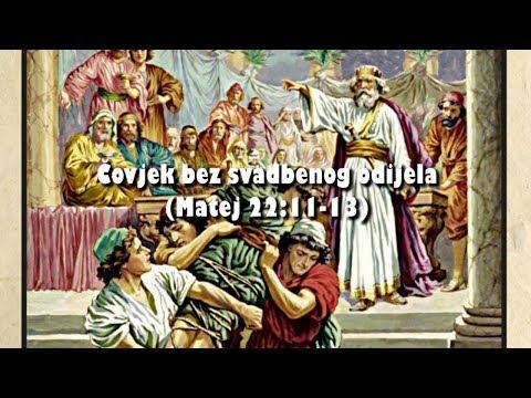 A MAN WITHOUT WEDDING CLOTHES (Matthew 22:1-14) - 2. A man without wedding clothes (Matthew 22:12)