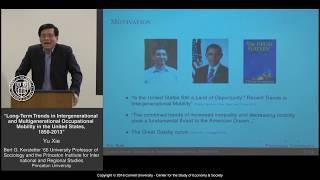 CSES Lecture Series: Yu Xie, Princeton University