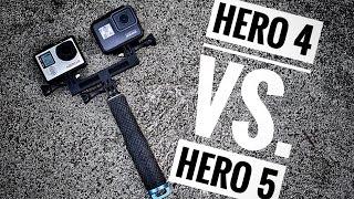 Video GoPro Hero 4 vs. GoPro Hero 5   Review & Tips MP3, 3GP, MP4, WEBM, AVI, FLV Juli 2018