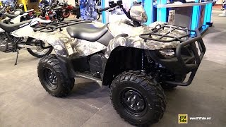 7. 2015 Suzuki King Quad 500 AX Utility ATV - Walkaround - 2015 Salon Moto de Montreal