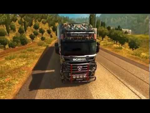 Scania R 2009 Batik Skin + Trailer Aero Dynamic