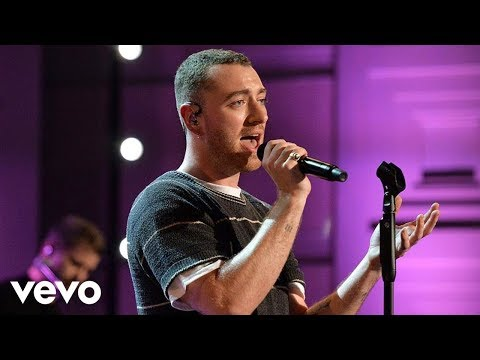 Sam Smith - Too Good at Goodbyes in the Live Lounge (видео)