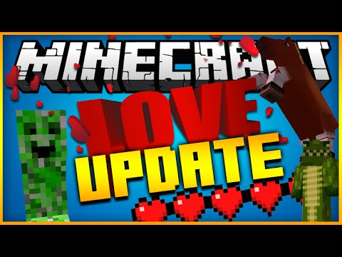 ★Minecraft LOVE Update: NEW Potions & Items Ghast Riding, Friendly Creepers & More! [1.10 Update] ★