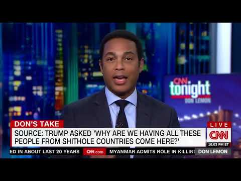 Don Lemon: The president is racist