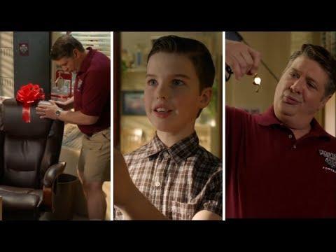 Young Sheldon Season 3 Episode 8 | School Trying to keep Sheldon and George