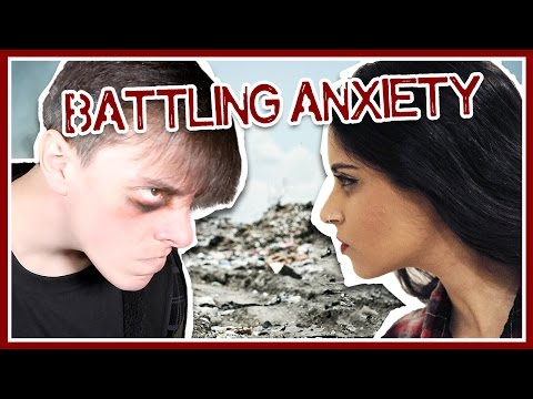 Taking on ANXIETY with Lilly Singh!!   Thomas Sanders