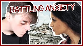 Taking on ANXIETY with Lilly Singh!! | Thomas Sanders