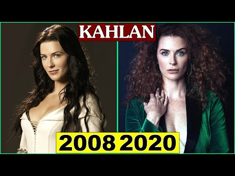 Legend of The Seeker Cast Then and Now 2020