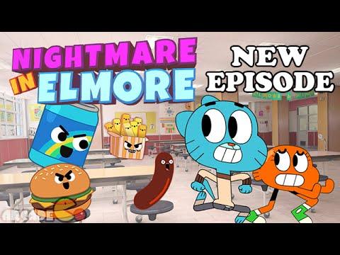 The Amazing World of Gumball - Nightmare In Elmore Full Episode Gameplay