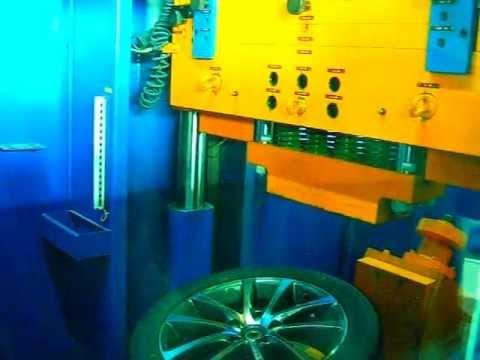 Тест литых дисков WSP Italy W454 RIACE на косой удар обода (Volkswagen)