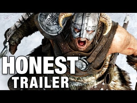 Honest Game Trailers The Elder Scrolls V Skyrim