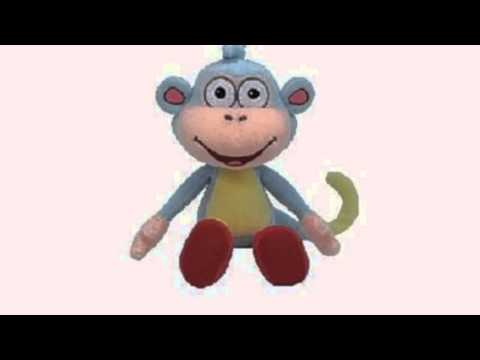 Video YouTube overview of the Beanie Baby Boots Doras Monkey
