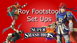 Roy Footstool Jab-lock Set-up