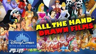 Video All the Hand-Drawn Films - Disneycember MP3, 3GP, MP4, WEBM, AVI, FLV September 2018
