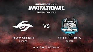 Team Secret против SFT E-sports, Первая карта, EU квалификация SL i-League Invitational S3