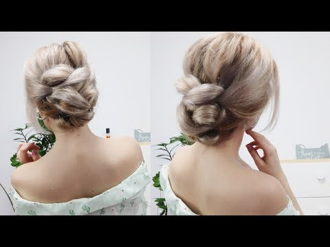Short hair styles - 5MIN EASY PARTY OR EVERYDAY BUN HAIRSTYLE FOR MEDIUM OR LONG HAIR  Awesome Hairstyles