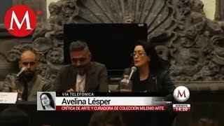 Avelina Lésper habla de la agresión que sufrió en el encuentro con grafiteros