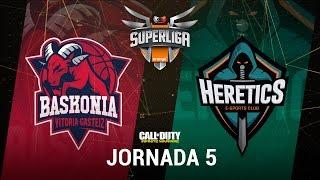 THUNDERX3 BASKONIA VS TEAM HERETICS - #SuperligaOrangeCOD5 - Jornada 5 - T12