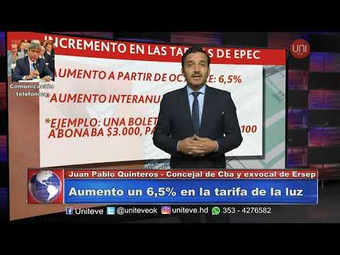 Autorizaron un nuevo aumento en la tarifa de EPEC